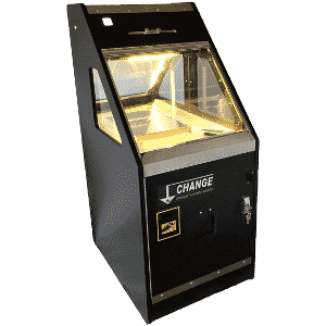 Coin pusher machine continues to draw loyal players