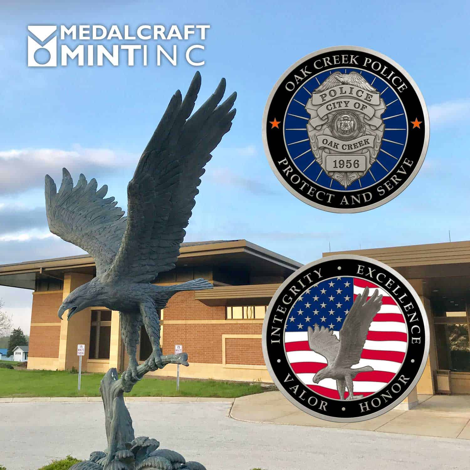 Our opportunity: Create a coin that features an iconic sculpture