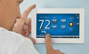 Robinson Heating & Cooling WiFi thermostat installation