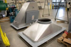 Badger Sheet Metal Works fabrication shop