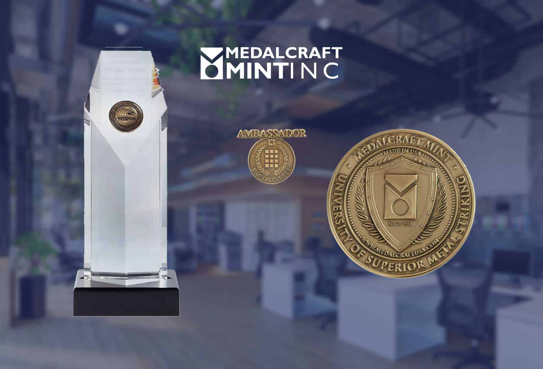 Spice up your employee recognition awards with Medalcraft quality