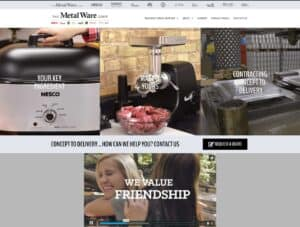 The Metal Ware Corporation new website launch