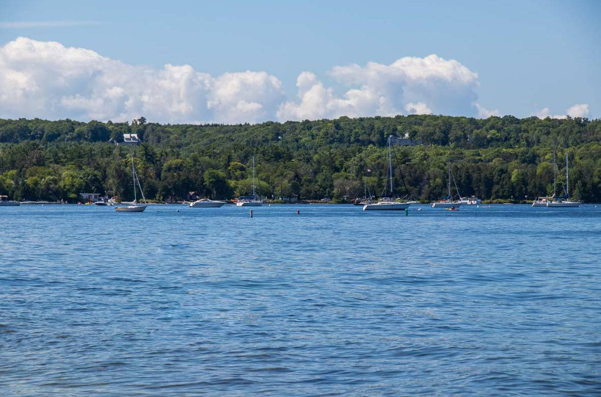 When staying in a Door County hotel on the water there's plenty to do