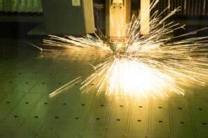 Laser cutting delivers high-level accuracy for metal fabrication