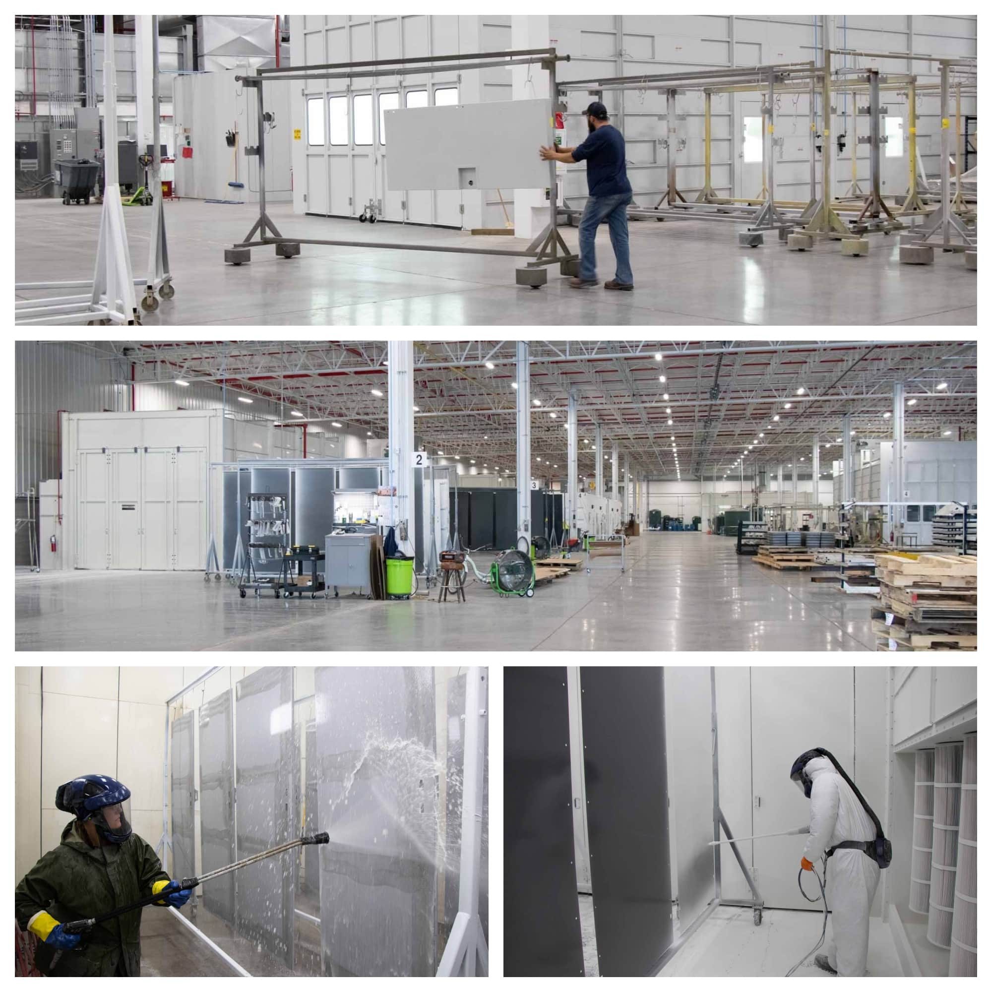Robinson expands its wet paint and powder coating capabilities