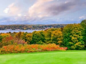 """We are """"fall""""ing for Door County autumn colors"""