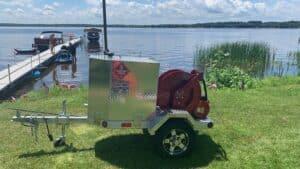 Robinson portable fuel trailer