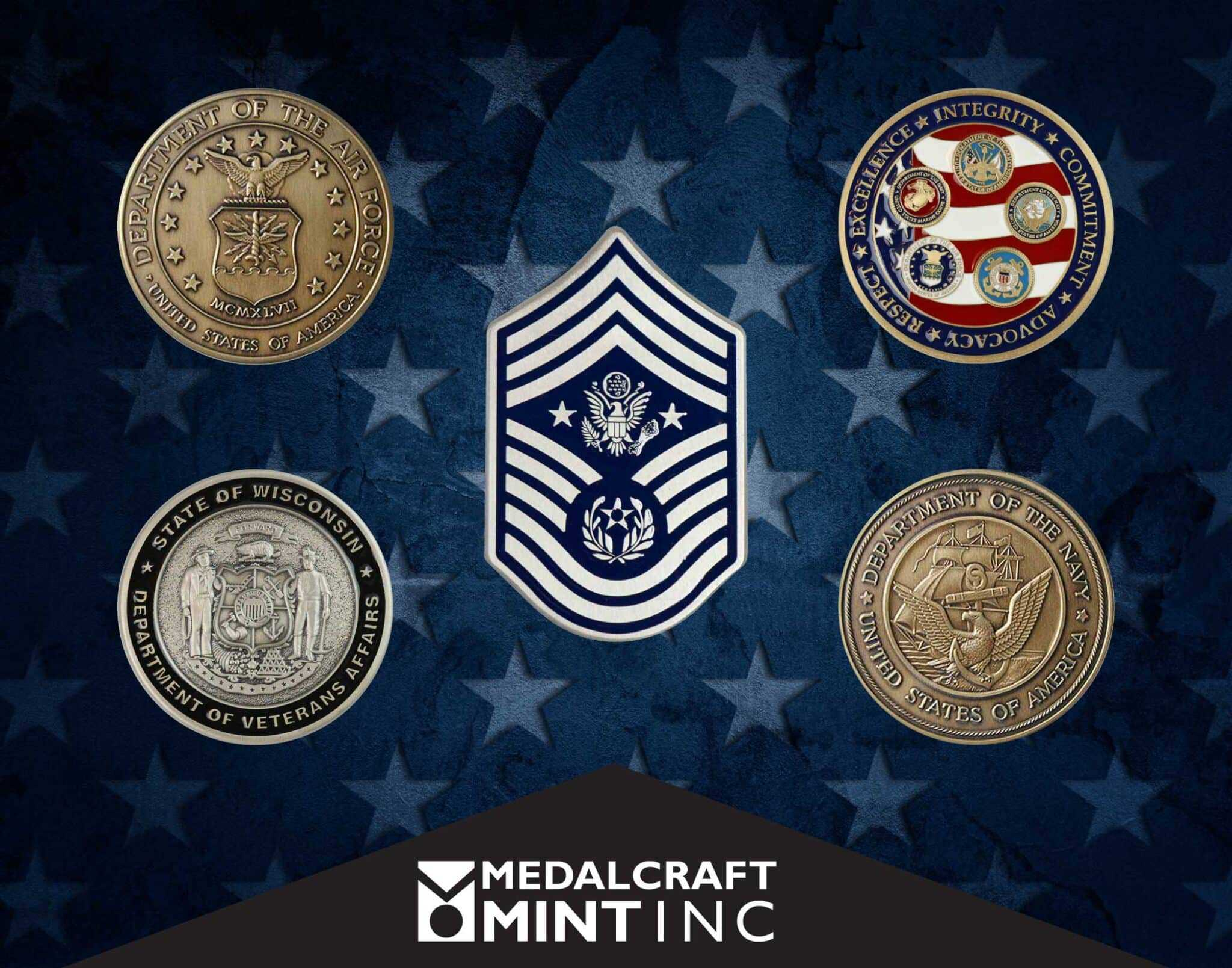 Military coins provide tangible reminder of service, commitment