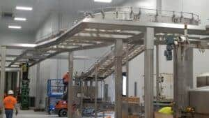 Robinson's sanitary conveyors help industrial customers stay clean