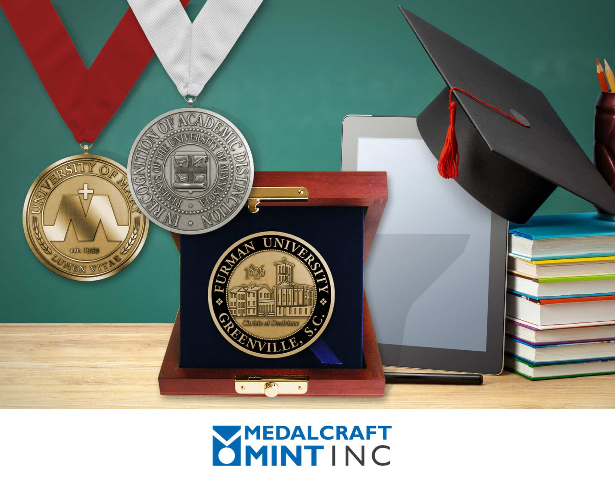Graduation medals strengthen ties during virtual times