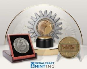 Custom medal presentation sets your organization apart