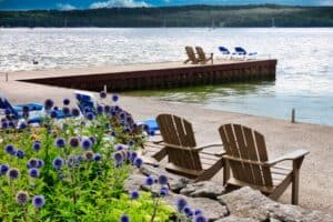 Love is in the air and Door County vacations are on the books