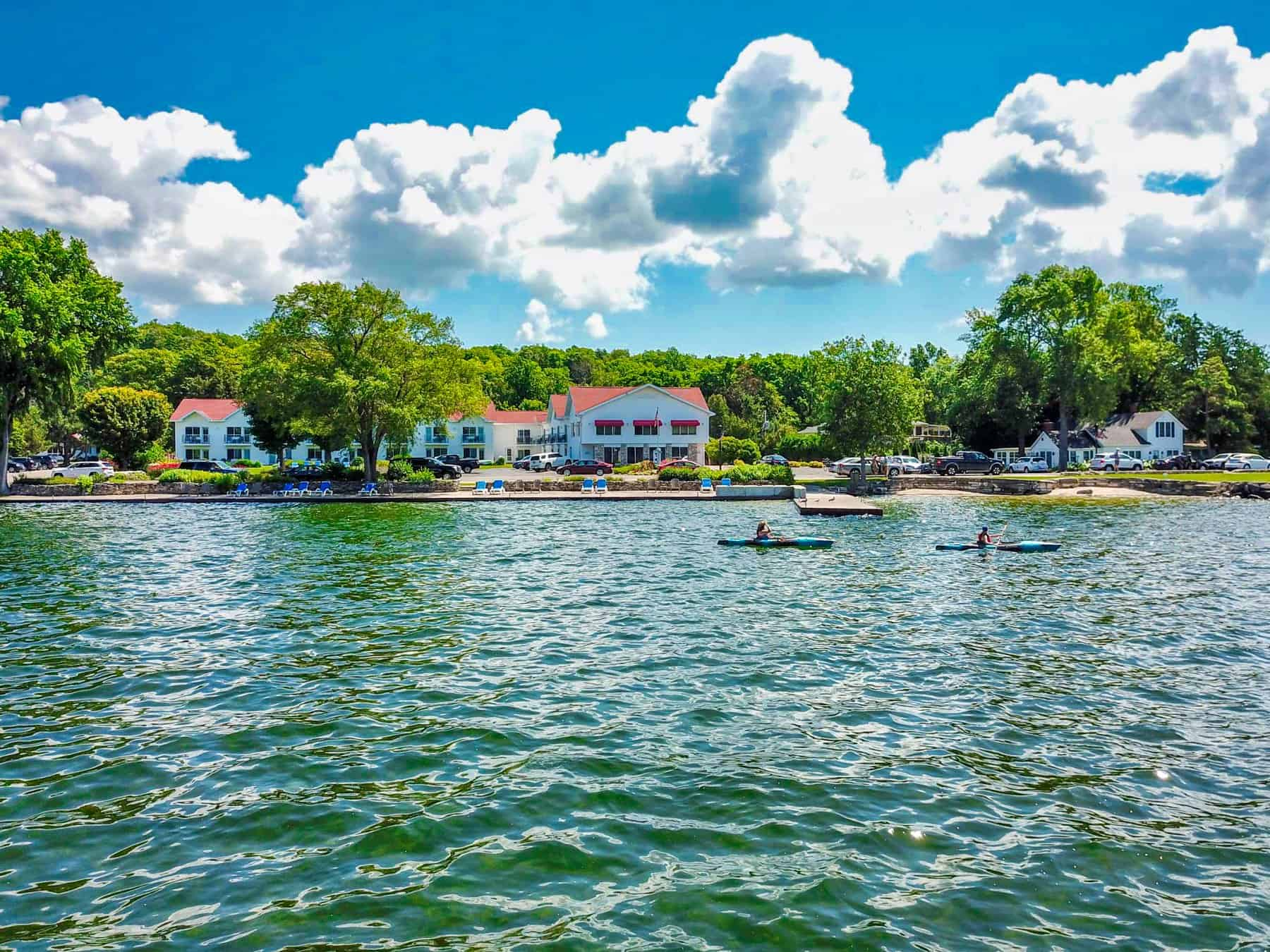 The Ephraim resort with the best waterfront view