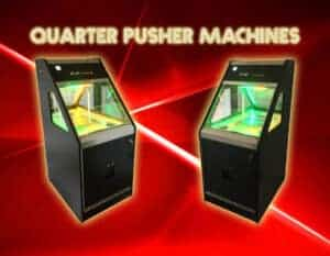 Quarter pusher machines are a magnet for occasional players