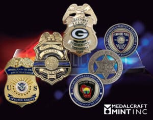 Read more about the article Custom police badges enhance the sense of pride for your force