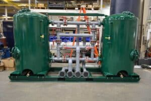 Process skid fabrication simplifies installs for renewable and green energy applications