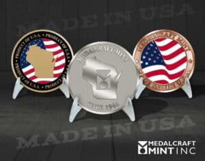 Read more about the article Custom coins deliver pride when they are Made in the USA