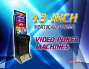 Read more about the article Spice up your video poker machine with a 43-inch vertical screen