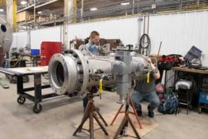 Robinson Inc. pressure piping fabrication