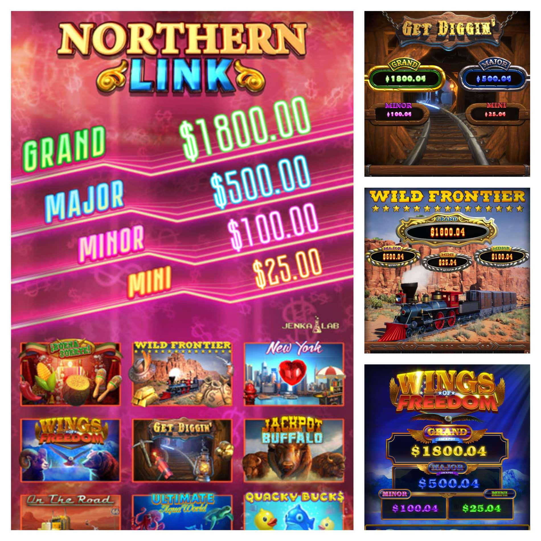 You are currently viewing Northern Link vertical game is a perfect fit for 43-inch machines