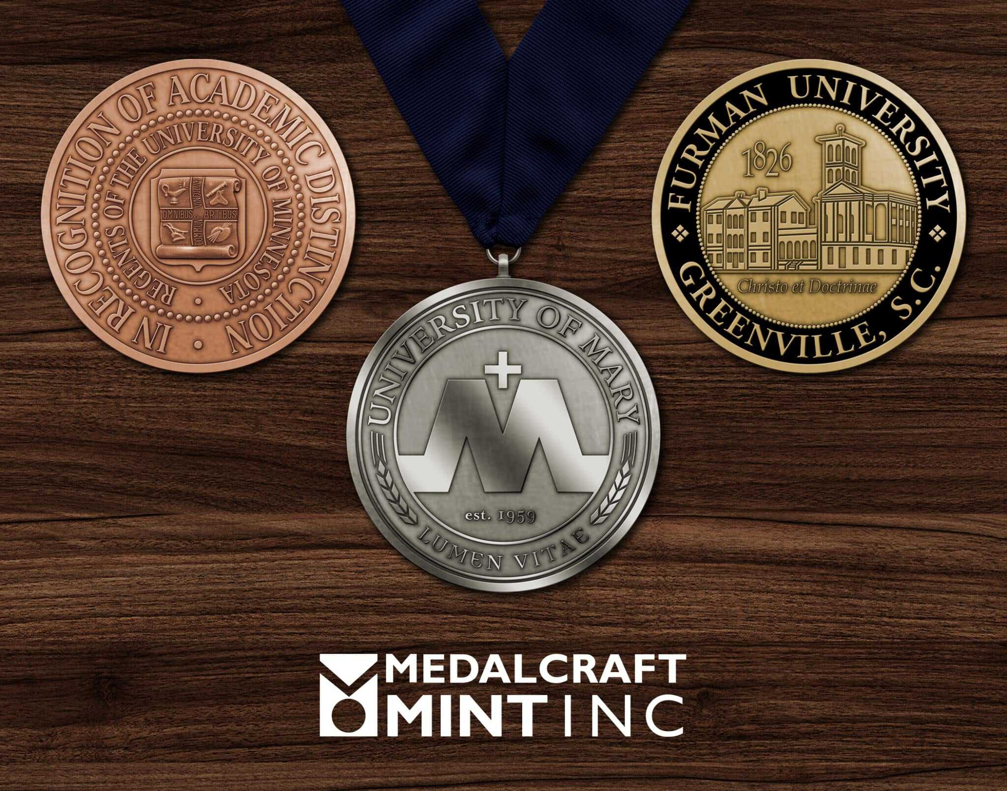 You are currently viewing Custom medallions enhance the significance of graduation medals