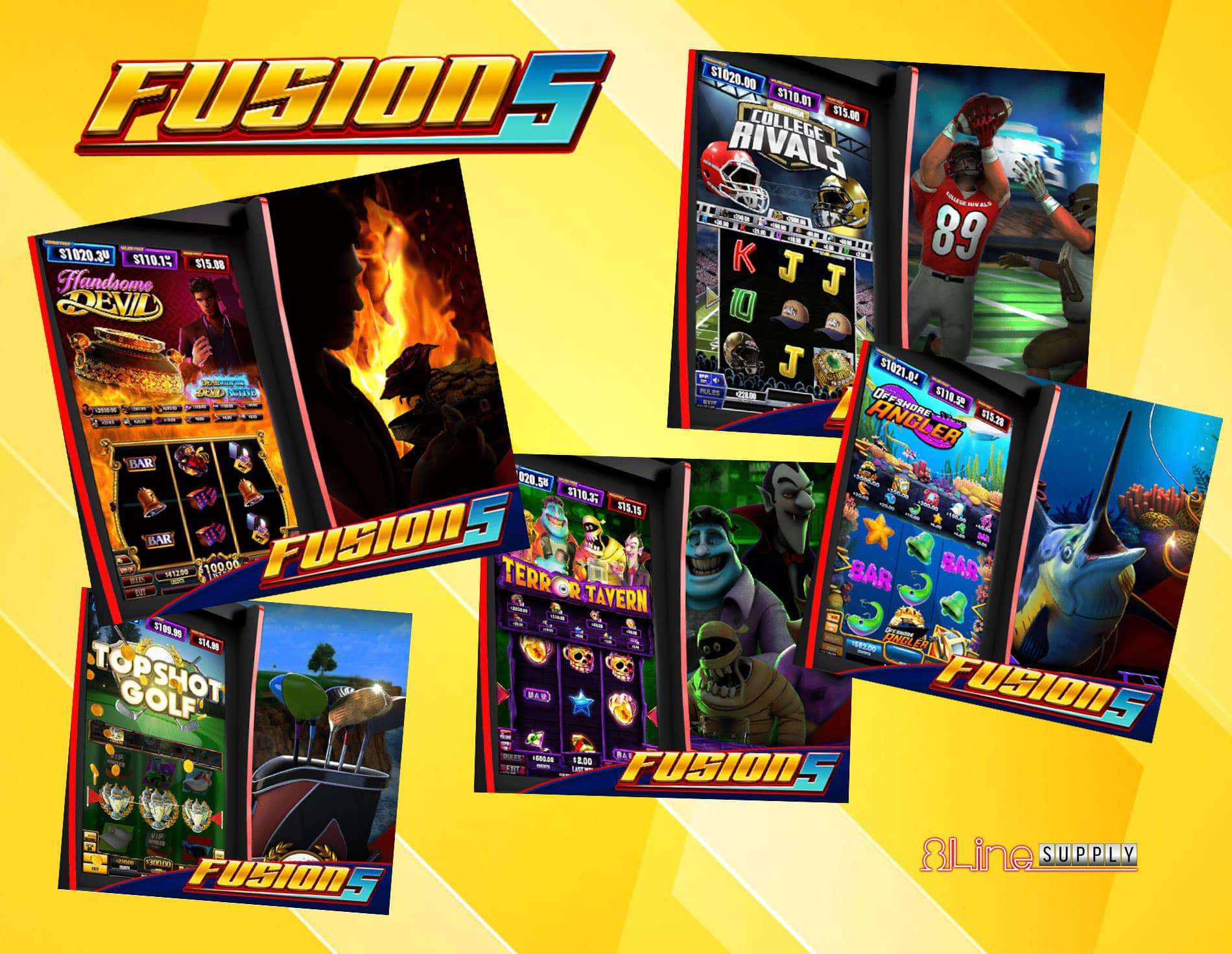 You are currently viewing Fusion 5 multi-game from Banilla Games is now available