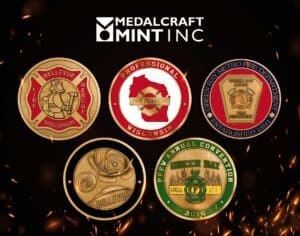 Read more about the article Firefighter challenge coins highlight dedicated service