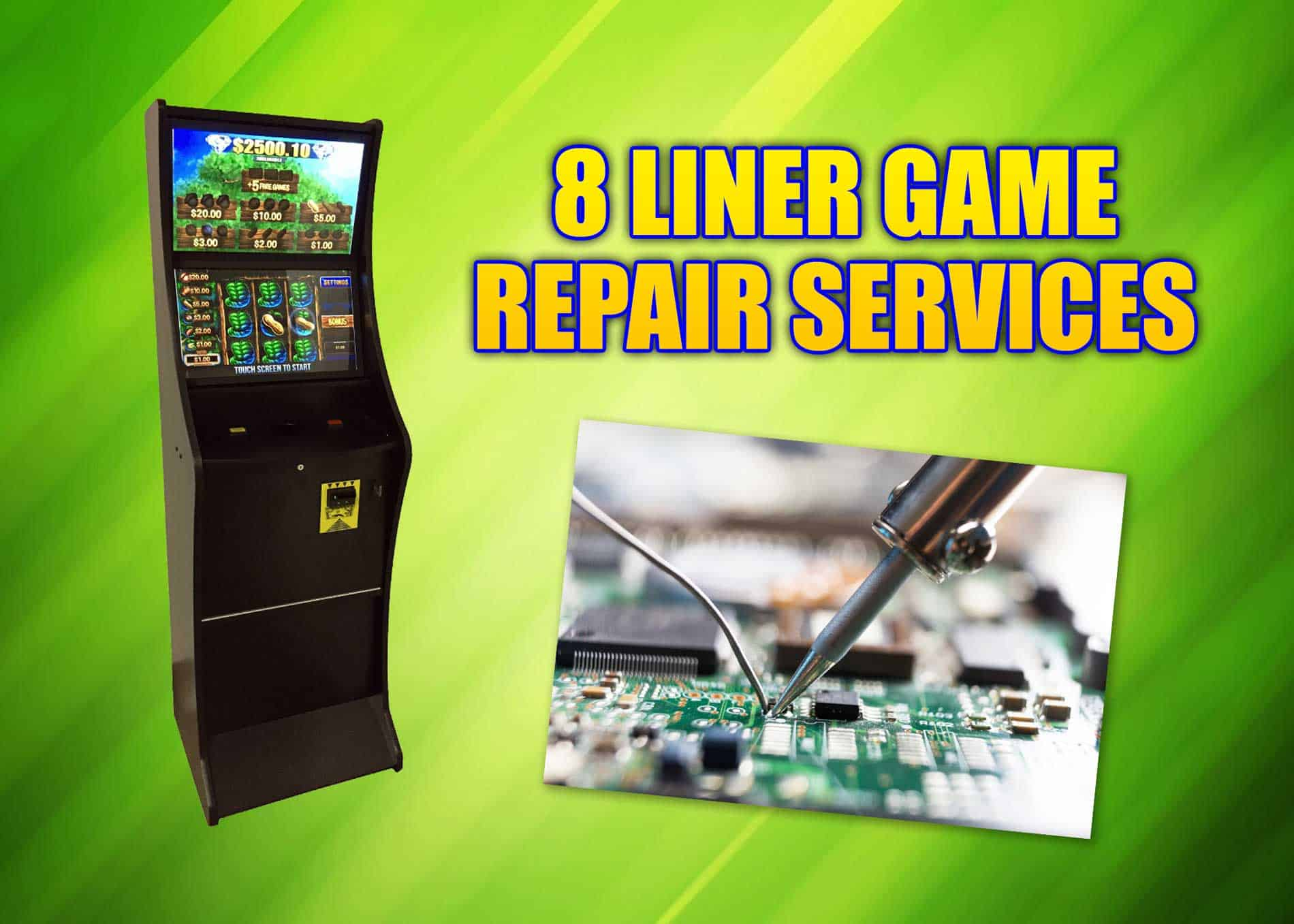 You are currently viewing Count on 8 Line Supply for 8 liner game repair services