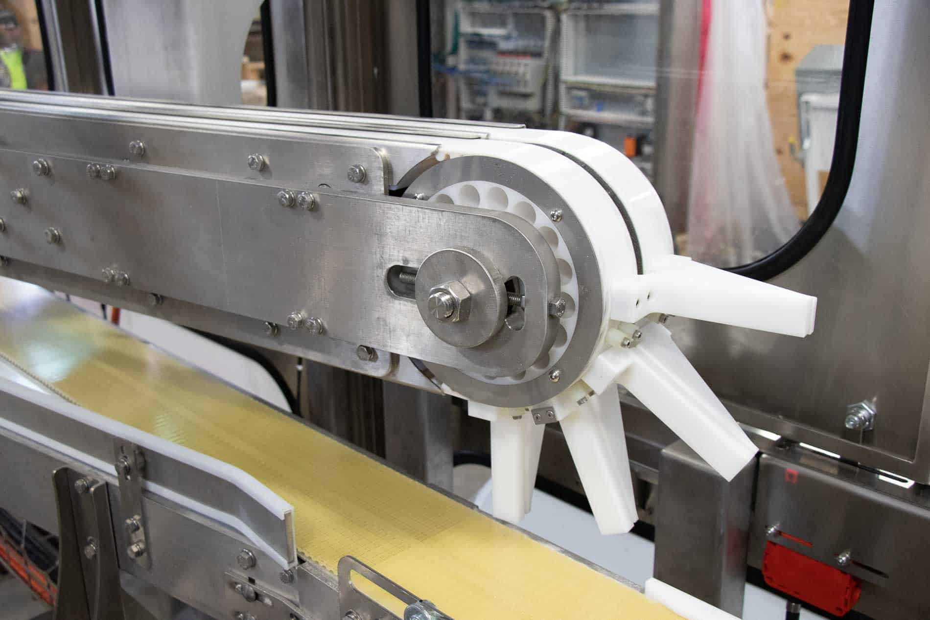 You are currently viewing Sortation conveyors ensure wrappers keep pace with product flow